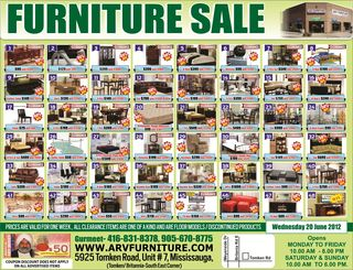 ARV FURNITURE TORONTO